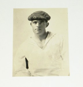 Photo of the young Jack London
