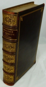 Beautifully bound 1846 second edition of Walker's Beauty: Illustrated Chiefly by an Analysis and Classification of Beauty in Woman.