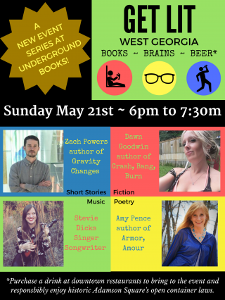 Get Lit West Georgia! Books ~ Brains ~ Beer