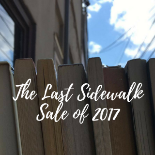 Underground Books & The Vinyl Frontier Present The Last Sidewalk Sale of 2017