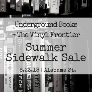 The First Sidewalk Sale of 2018 with The Vinyl Frontier