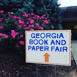 Georgia Book and Paper Fair at the Decatur Book Festival