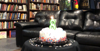Our 8th Anniversary and the Flight of the Book Fairy