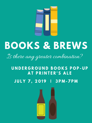 Pop-Up Bookshop at Printer's Ale
