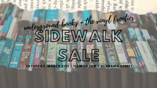 First Sidewalk Sale of 2020 with The Vinyl Frontier