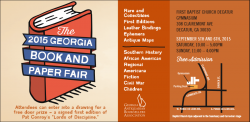 Underground Books at the Georgia Book & Paper Fair