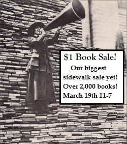 MASSIVE $1 Book Sidewalk Sale!