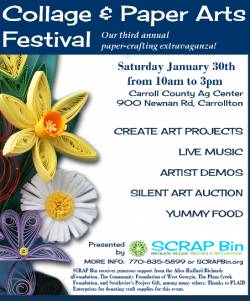 3rd Annual Collage and Paper Arts Festival