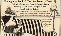 Underground Books 5th Anniversary Party & Poetry Night
