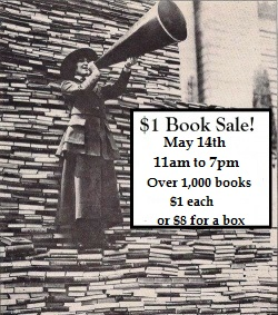 $1 Book Sidewalk Sale / Fill a box for $8