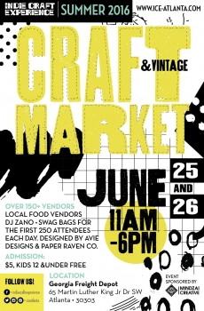 Underground Books at Summer I.C.E. Craft & Vintage Market