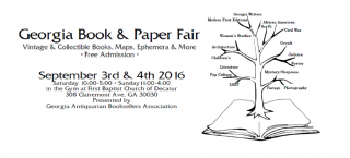 Underground Books at the GABA Fair & Decatur Book Festival