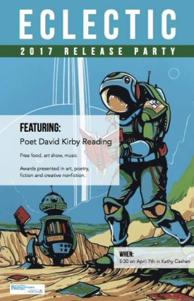 Eclectic Release Party with Poet David Kirby