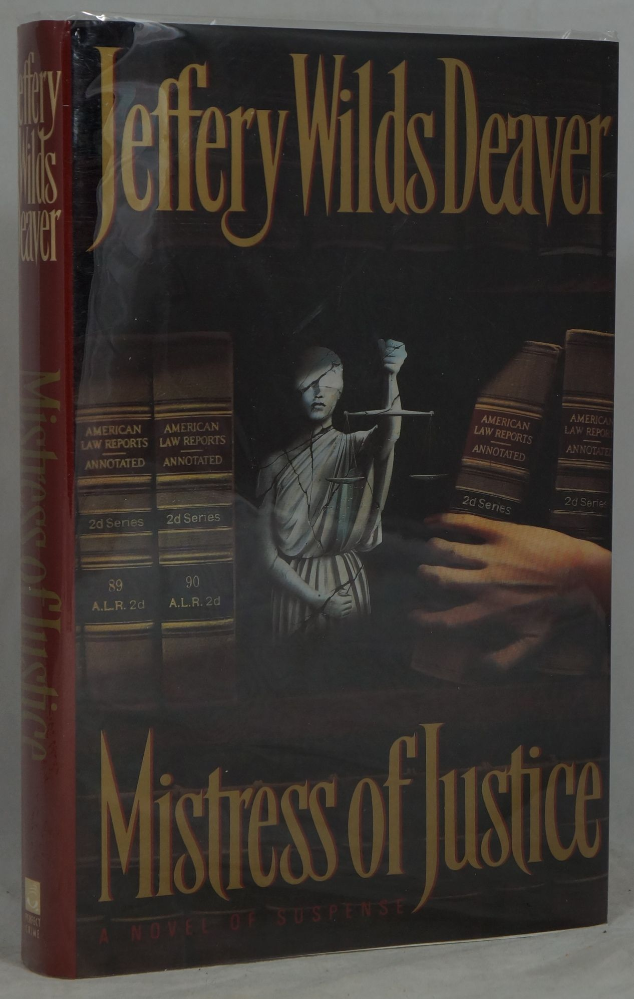 Jeffery Wilds Deaver Mistress Of Justice First Edition