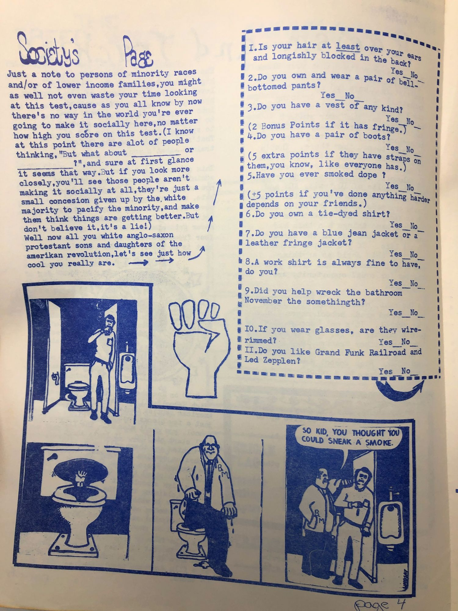 Lawrence, Kansas Radical Student Newspaper, Seven Issues Freed Speak,  Issues 1 and 2, Students Free Press, Vol  1, Issues 1-4 on Underground Books