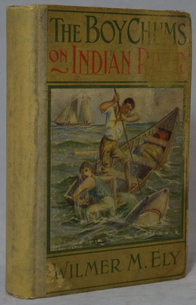 """The Boy Chums on Indian River or The Boy Partners of the Schooner """"Orphan"""" Wilmer M. Ely."""