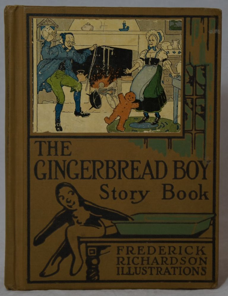 The Gingerbread Boy Story Book: A Treasury of Sunshine Stories for Children. Frederick Richardson, Illust.