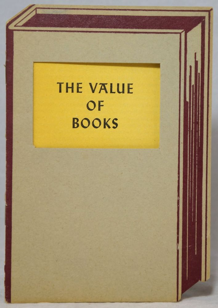 The Value of Books. W. W. Melton.