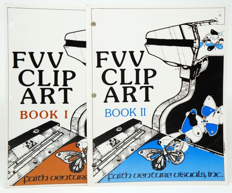 FVV Clip Art Book I and Book II. Anna Sue Darkes.