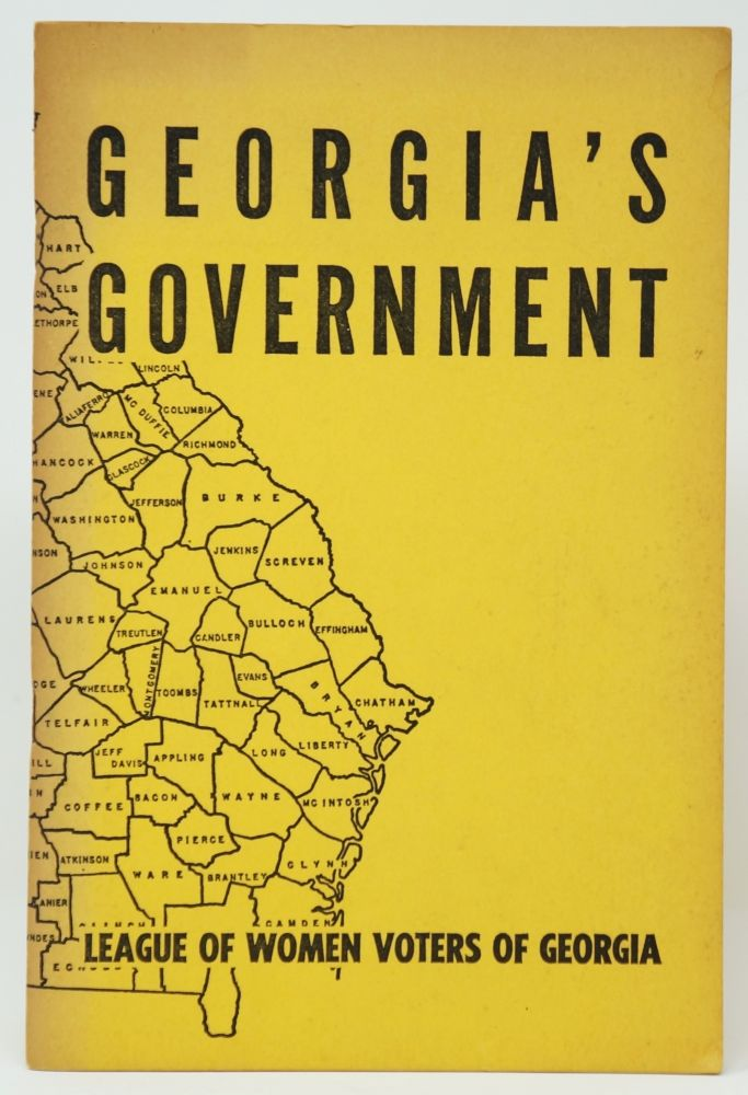 Georgia's Government: A Citizen's Guide
