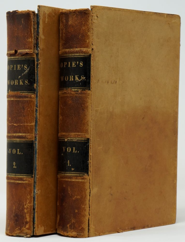 The Works of Mrs. Amelia Opie, Volume I and Volume II [Incomplete Set, 2 Volumes Only]. Amelia Opie.