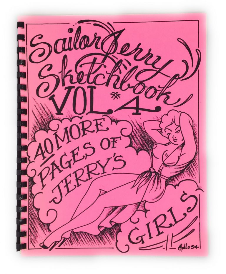 Sailor Jerry Sketchbook Vol. # 4. Sailor Jerry, Norman Keith Collins.