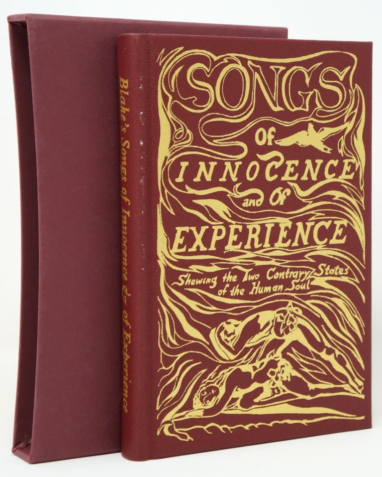 Songs of Innocence and of Experience. William Blake, Richard Holmes, Intro.