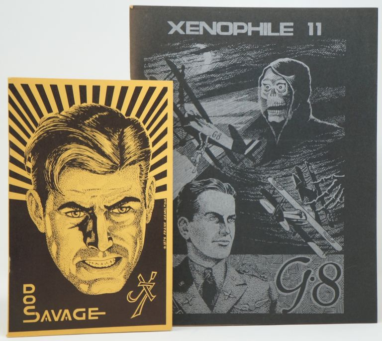 Xenophile No. 7, October 1974 [and] Xenophile No. 11, March 1975. Nils Hardin.