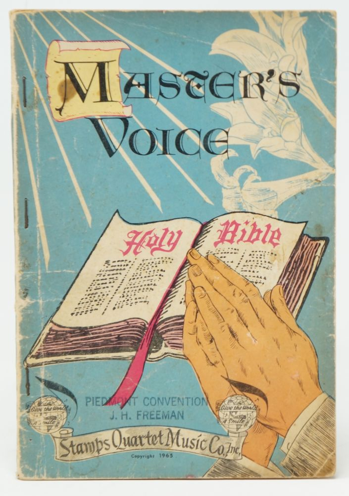 [Shape Notes] Master's Voice: Our First 1966 Book for Singing Conventions, Singing Schools, Sunday Schools, etc. Frank H. Stamps, Joe Roper.