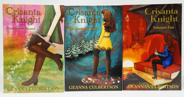 Crisanta Knight: Protagonist Bound, The Severance Game, and Inherent Fate (3 Books). Geanna Culbertson.