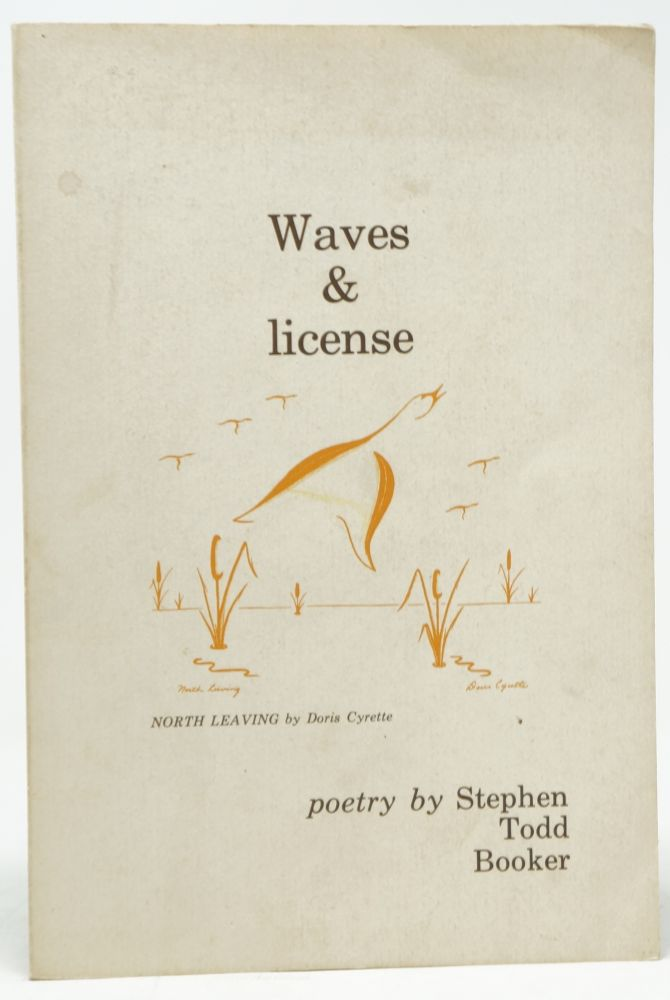 Waves & license. Stephen Todd Booker.