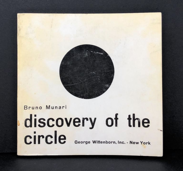 Discovery of the Circle. Bruno Munari.