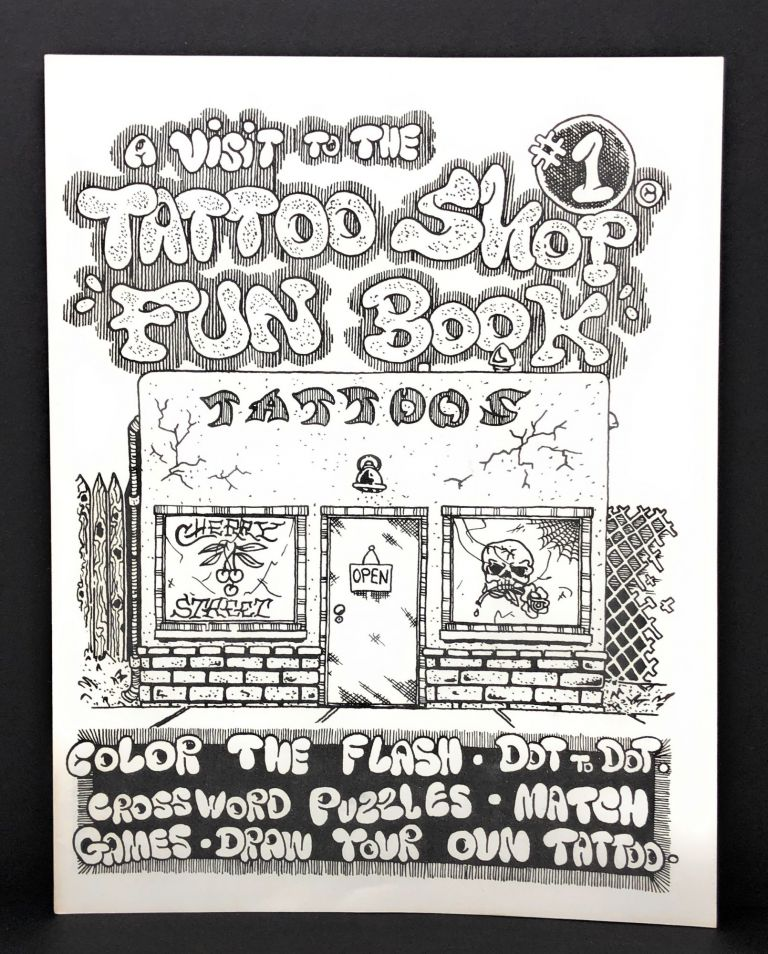 "A Visit to the Tattoo Shop ""Fun Book"" #1: Color the Flash, Dot to dot, Crossword Puzzles, Match Games, Draw Your Own Tattoo"