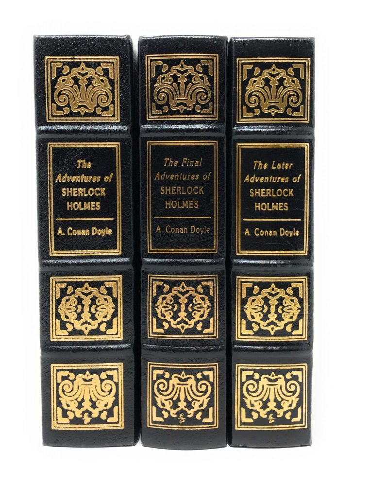The Adventures of Sherlock Holmes, The Later Adventures of Sherlock Holmes, and The Final Adventures of Sherlock Holmes [Complete Three Volume Set]. Sir Arthur Conan Doyle, Edgar W. Smith, Vincent Starrett, Frederic Dorr Steele, Frank Wiles, Sidney Paget, Intro., Illust.