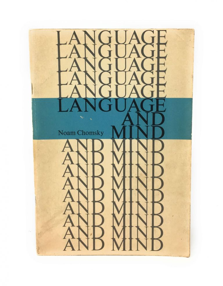 Language and Mind. Noam Chomsky.