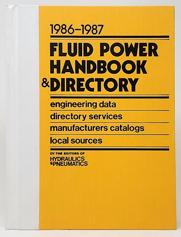 Fluid Power Handbook & Directory 1986-1987
