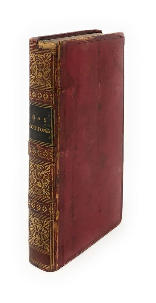 Gay's Fables and Other Poems; Cotton's Visions in Verse; Moore's Fables for the Female Sex with Sketches of the Authors' Lives. John Gay, Nathaniel Cotton, Edward Moore.