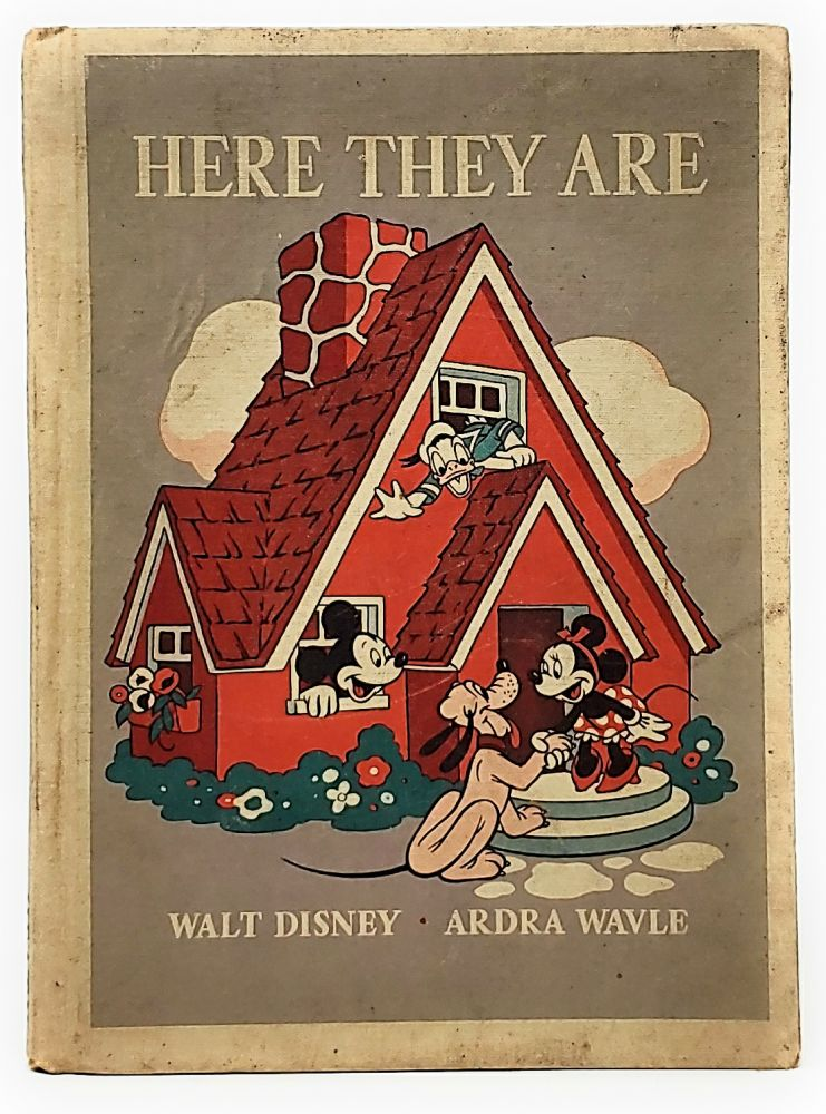 Here They Are. Ardra Wavle, The Walt Disney Studio, Illust.