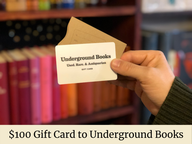 $100 Gift Card to Underground Books