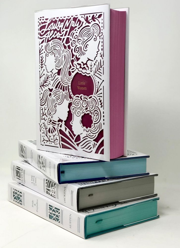 The Seasons Editions Winter Collection: Little Women, Pride & Prejudice, Wuthering Heights, and A Tale of Two Cities [Complete 4 Volume Set]. Louisa May Alcott, Jane Austen, Emily Bronte, Charles Dickens.