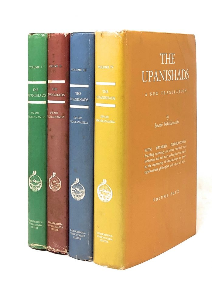 The Upanishads: A New Translation, Complete in Four Volumes [4 Volume Set]. Swami Nikhilananda, Trans.