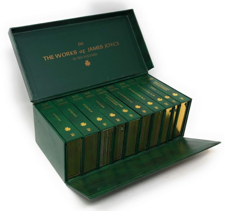 The Works of James Joyce in Ten Volumes. James Joyce.