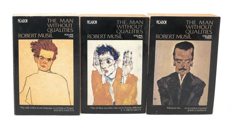 The Man Without Qualities (Complete in 3 Volumes). Robert Musil.