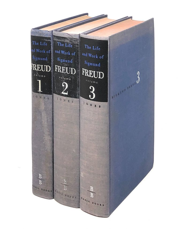 The Life and Work of Sigmund Freud, Complete in Three Volumes -- Volume 1: The Formative Years and the Great Discoveries, 1856-1900; Volume 2: Years of Maturity, 1901-1919; Volume 3: The Last Phase, 1919-1939. Ernest Jones.