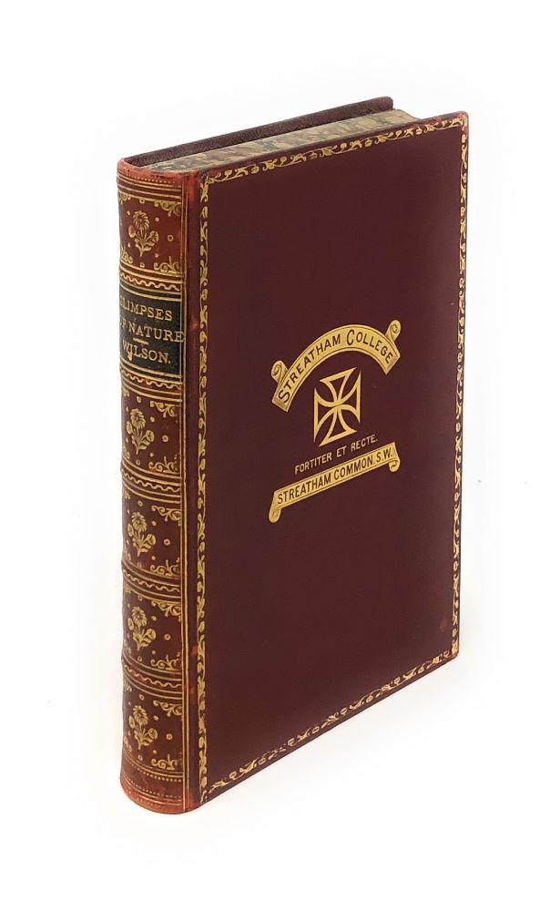 Glimpses of Nature [Victorian prize binding]. Andrew Wilson.