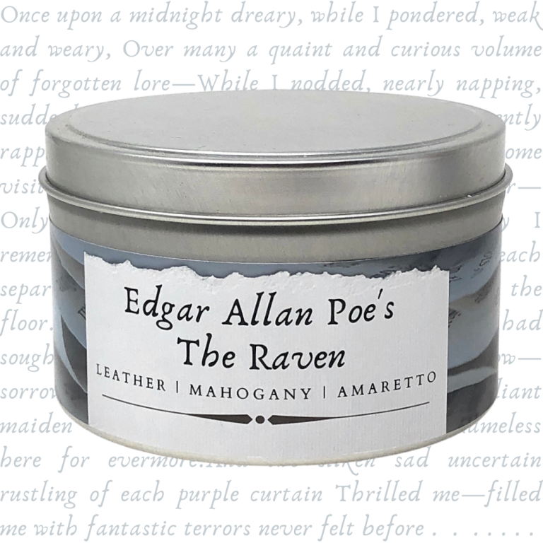 Edgar Allan Poe's The Raven   Literary Candle