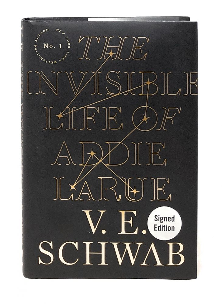 The Invisible Life of Addie LaRue [SIGNED First Edition]. V. E. Schwab.