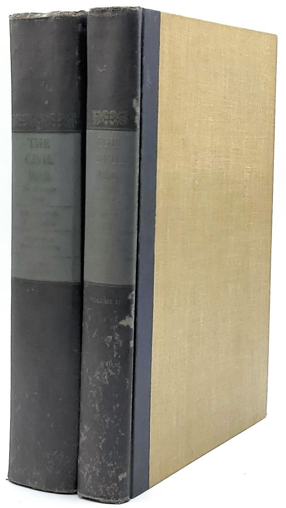 The Civil War Volume I: The American Iliad as Told by Those Who Lived It [and] The Civil War Volume II: The Picture Chronicle of the Events, Leaders and Battlefields of the War [Two Volumes]. Otto Eisenschiml, Ralph Newman, E. B. Long.