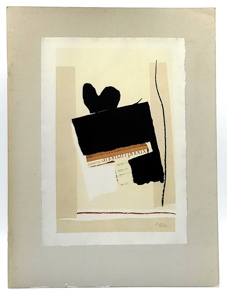 Robert Motherwell: The Collaged Image