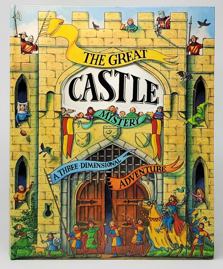 The Great Castle Mystery: A Three-Dimensional Adventure [Pop-up Book]. Nick Denchfield, Steve Cox, Philip Ardagh, Paper Engineer, Illust., Text.